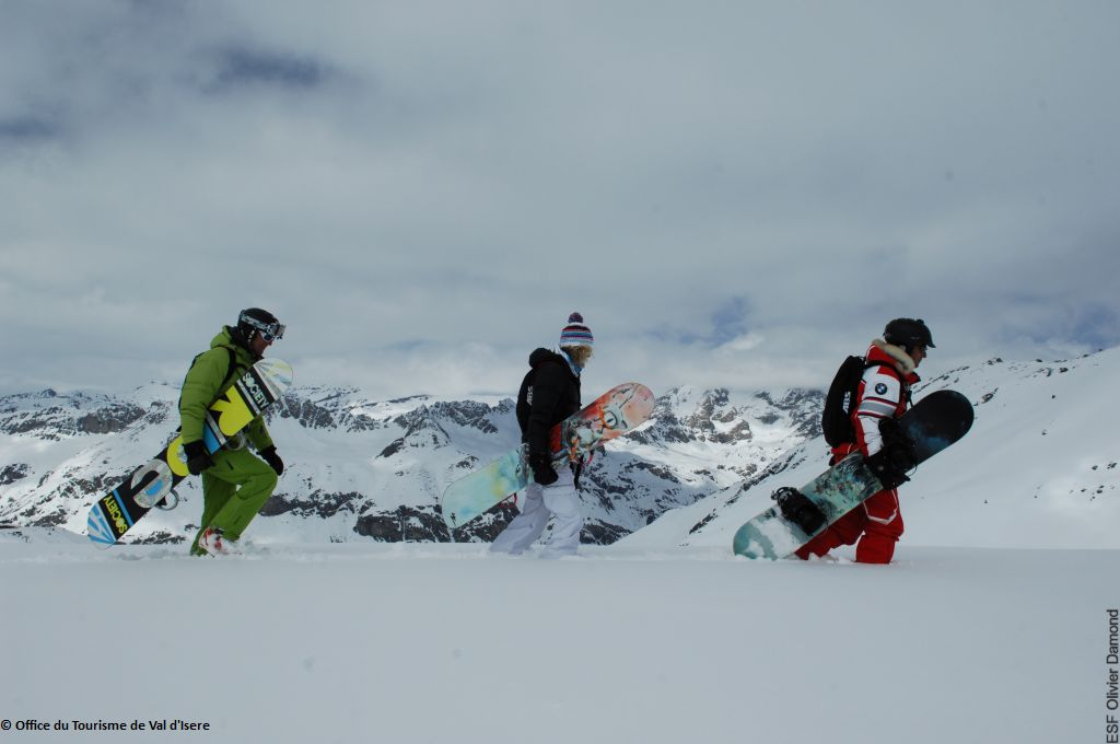 Powder Snowboardcamp in Val d´Isere